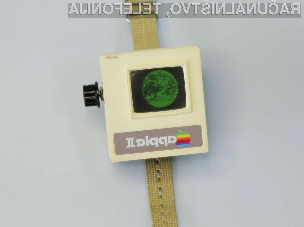 Ročna ura Apple II Watch vas bo zagotovo takoj prevzela!