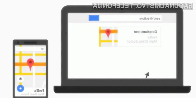 Google sedaj omogoča hitro deljenje povezav z mobilnimi napravami Android!