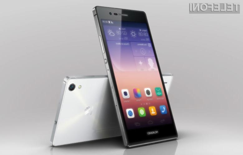 Mobilnik Huawei P8 je takoj navdušil uporabnike storitev mobilne telefonije!