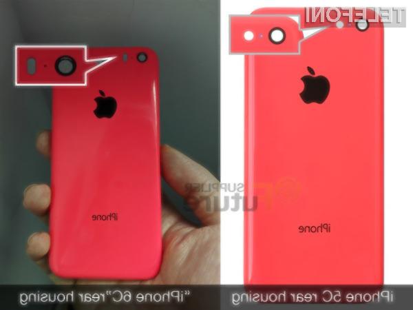 Novi iPhone 6C naj bi bil na las podoben njegovemu predhodniku!