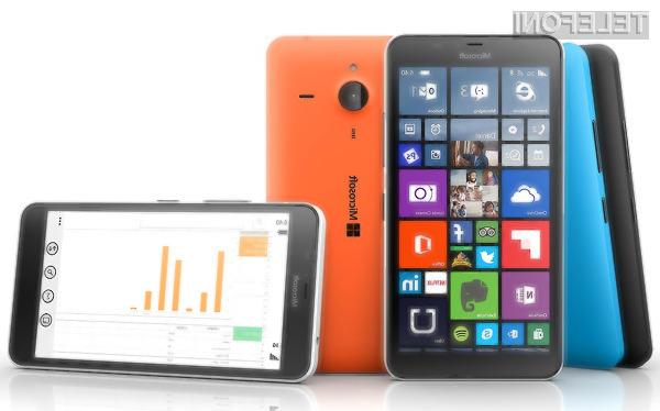 Microsoft Lumia 640 XL se bo odlično znašel z mobilnim operacijskim sistemom Windows 10!