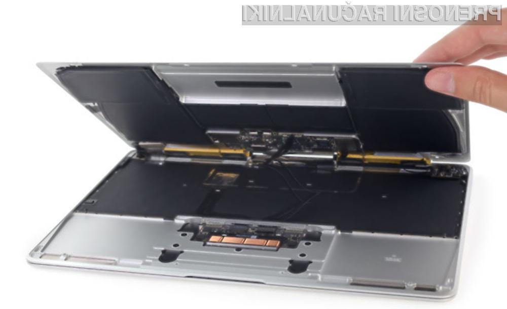 Zanesenjaki spletnega portala iFixit so prenosniku Apple MacBook 12 dodelili oceno eno od deset glede popravljivosti, kar pomeni, da je novost vse prej kot enostavna za popravilo.