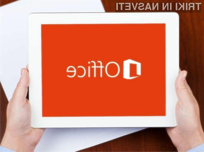 Novi Office bo pisan na kožo manjšim tablicam!