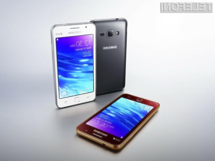 Mobilnik Samsung Tizen Z1 bo kmalu dobil naslednika!