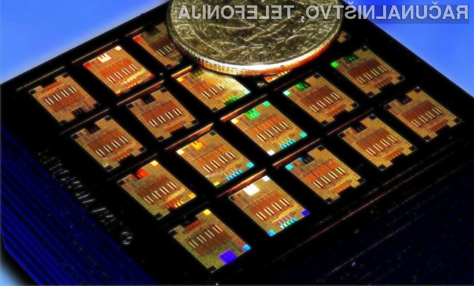 Inženirji podjetja IBM Research so predstavili prvo optično čipovje, ki združuje tako silicijeve kot optične komponente.
