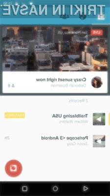 Aplikacija Periscope navdušuje v vseh pogledih!