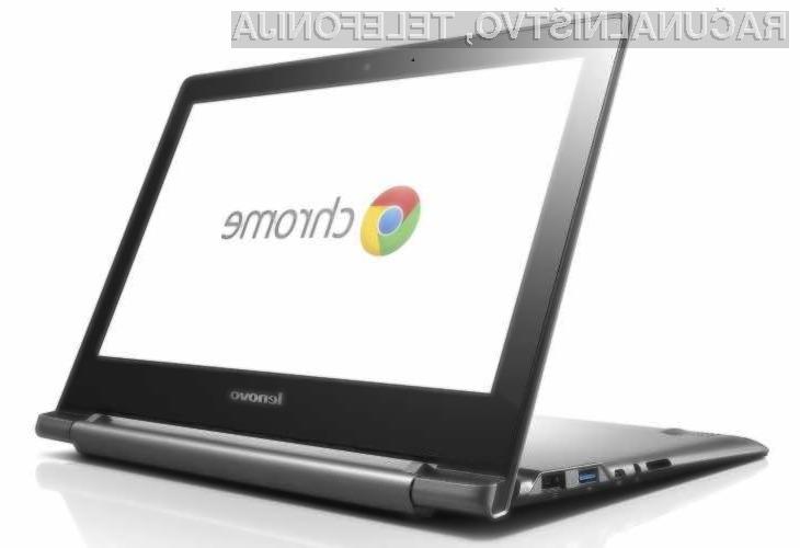 Trgovcem naj bi letos uspelo skupno prodati več kot 7,3 milijonov prenosnikov Chromebook.