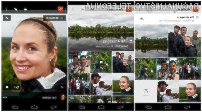 Mobilna aplikacija Google Photos naj bi omogočala hitro in enostavno urejanje fotografij in slik!