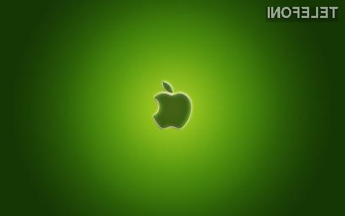 Podjetje Apple cilja na 100 odstotno obnovljivo energijo za njihov celotni proizvodnji proces!