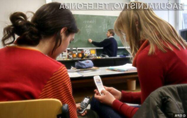 Če želite izboljšati šolske rezultate, mobilnik ob prihodu v šolo izključite!