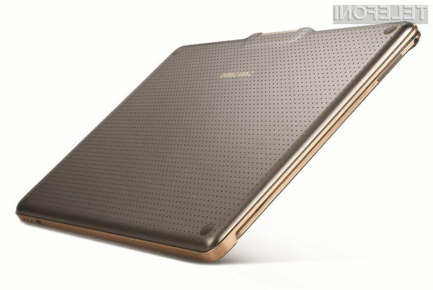 Tablični računalnik Samsung Galaxy Tab S2 naj bi prevzel lovoriko najmanjše in najlažje 9,7-palčne tablice na trgu.