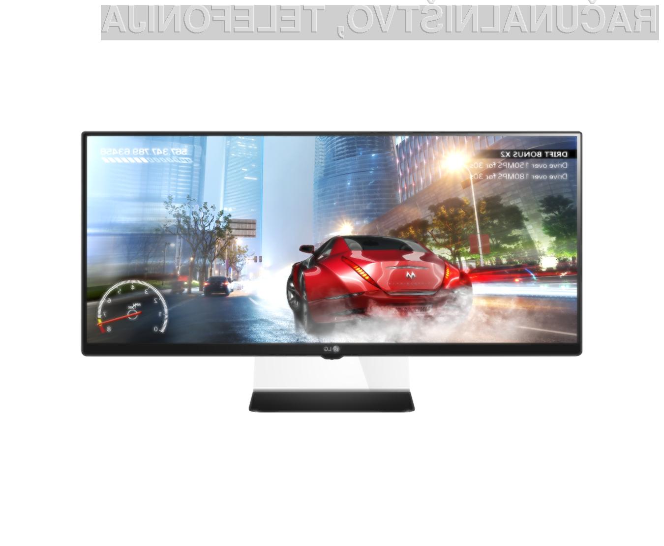 LG je v sodelovanju s podjetjem AMD v monitor IPS formata 21:9 vključil tehnologijo FreeSync, ki zagotavlja najboljšo izkušnjo računalnikih iger brez trganja ali zamrzovanja slike.