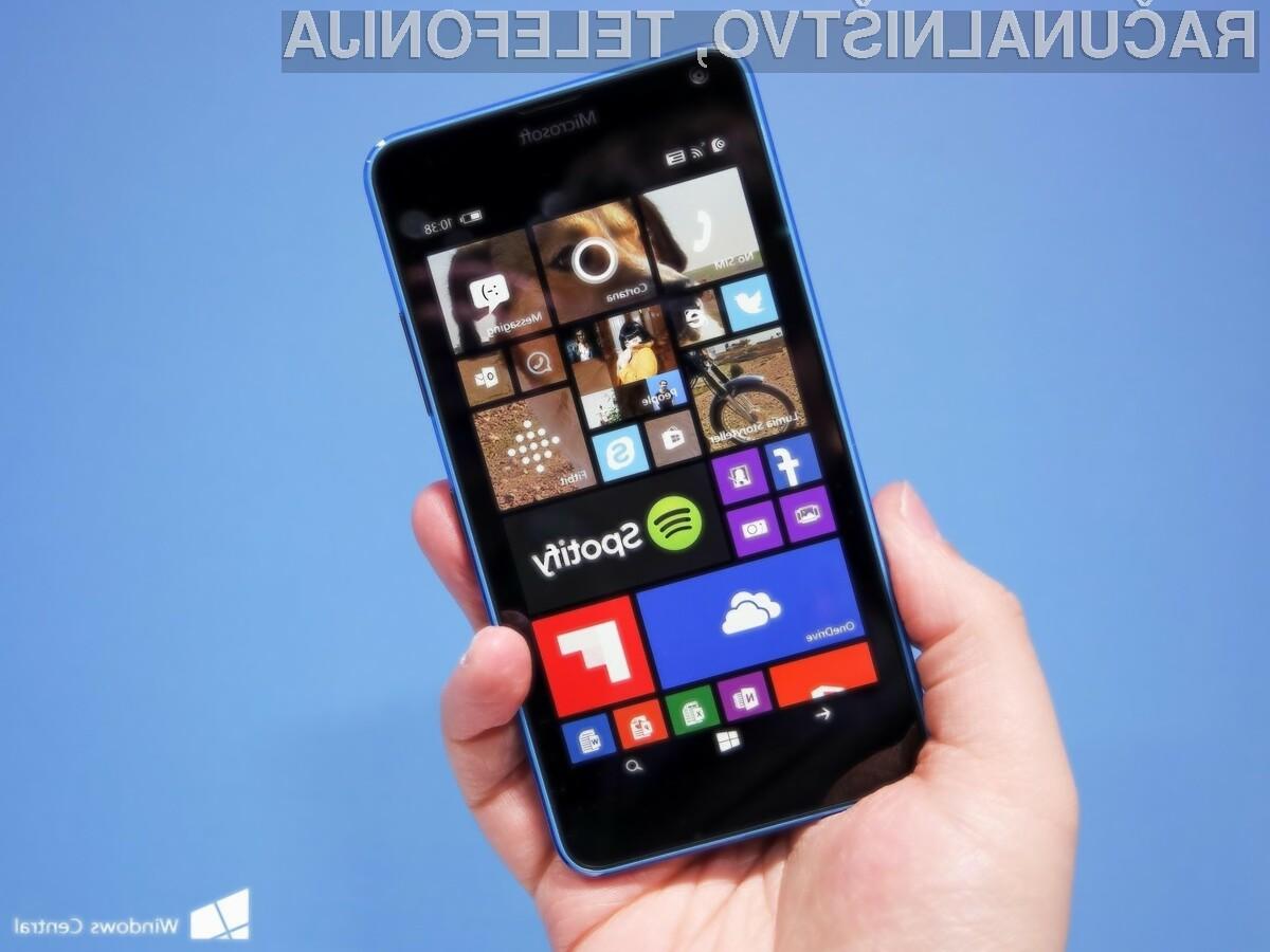 Windows 10 se bo odlično prilegal mobilniku Microsoft Lumia 640!