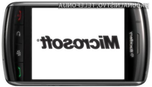 Se Microsoft zanima za BlackBerry?