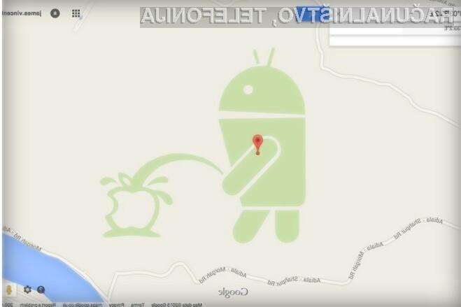 Google je kot odgovor na Android, ki urinira po obgrizenem jabolku, vsem uporabnikom preklical dostop do orodja Map Maker.