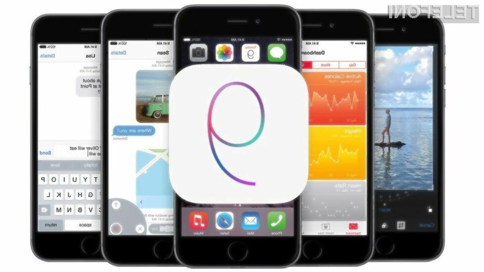 Applov iOS 9 nam bo samodejno predlagal seznam aplikacij za odstranitev, če ne bo dovolj prostora za izvedbo nadgradnje.