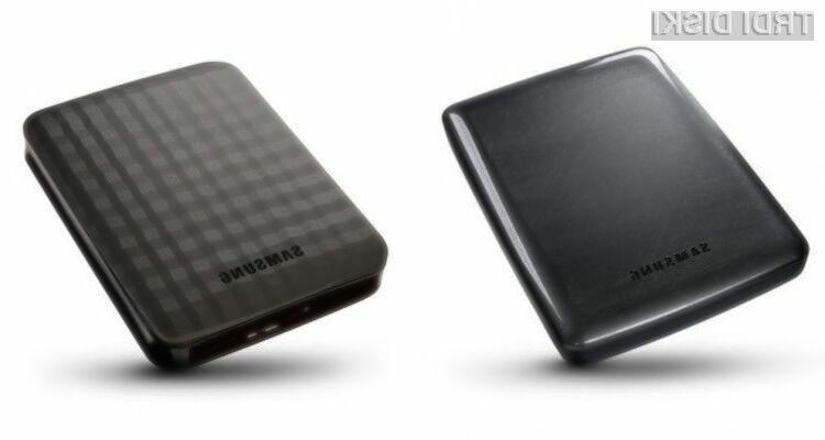 Zunanja 4TB trda diska Samsung M3 Portable in P3 Portable bomo zlahka prenašali naokrog!