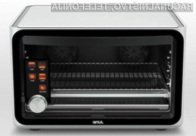 Glavna prednost novodobne pečice June Intelligent Oven je nedvomnosti v njeni enostavnosti uporabe!