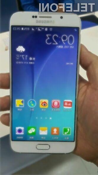 Nadvse zanimivi Samsung Galaxy A8 naj bi luč sveta ugledal še pred jesenjo.