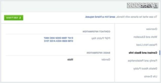 Šifriranje sporočil na Facebooku naj bi s pridom uporabljala predvsem podjetja.