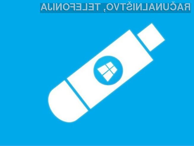 Windows 10 bomo po vsej verjetnosti lahko kupili tudi na pomnilniških ključih USB!
