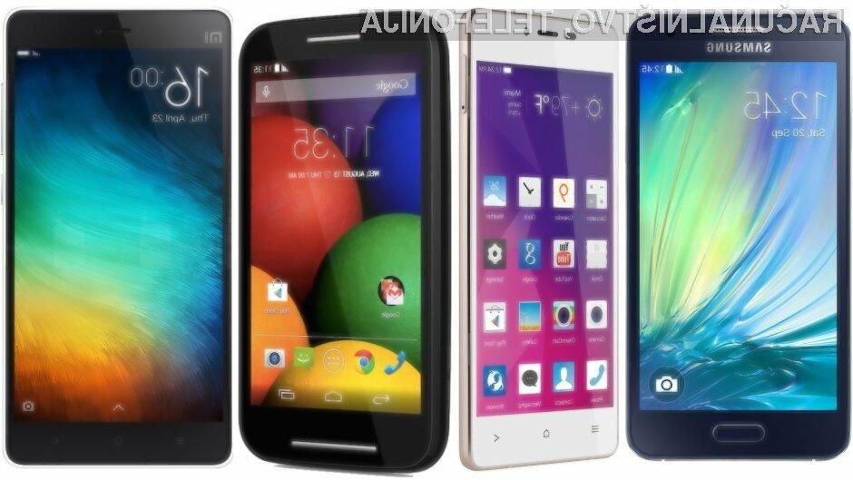 Nakup pametnega mobilnega telefona srednjega cenovnega razreda je odlična investicija za prihodnost!