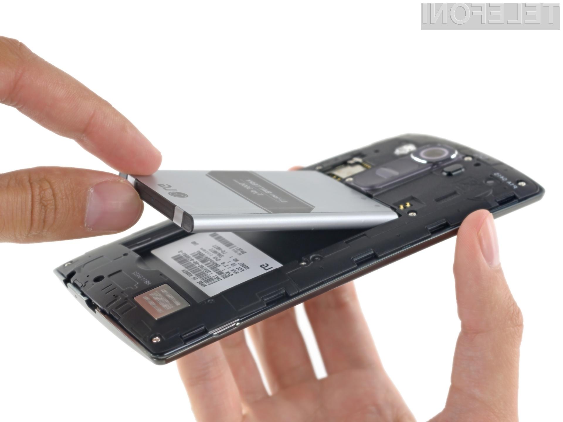 Popravilo mobilnika LG G4 ne bo vedno nujno potrebno zaupati serviserju.