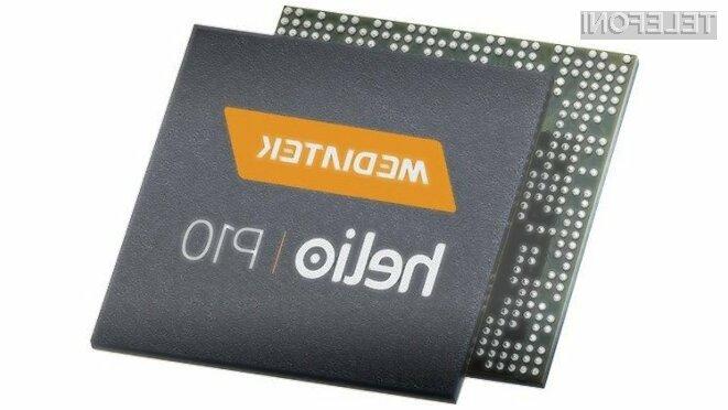Cenovno ugodni procesor MediaTek Helio P10 bo še pohitril poceni mobilne naprave!