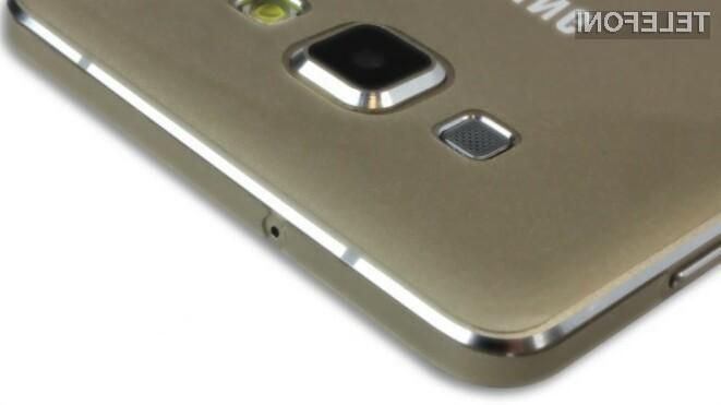 Pametni mobilni telefon Samsung Galaxy A8 bo prodajne police trgovin ugledal že v prvi polovici poletja.