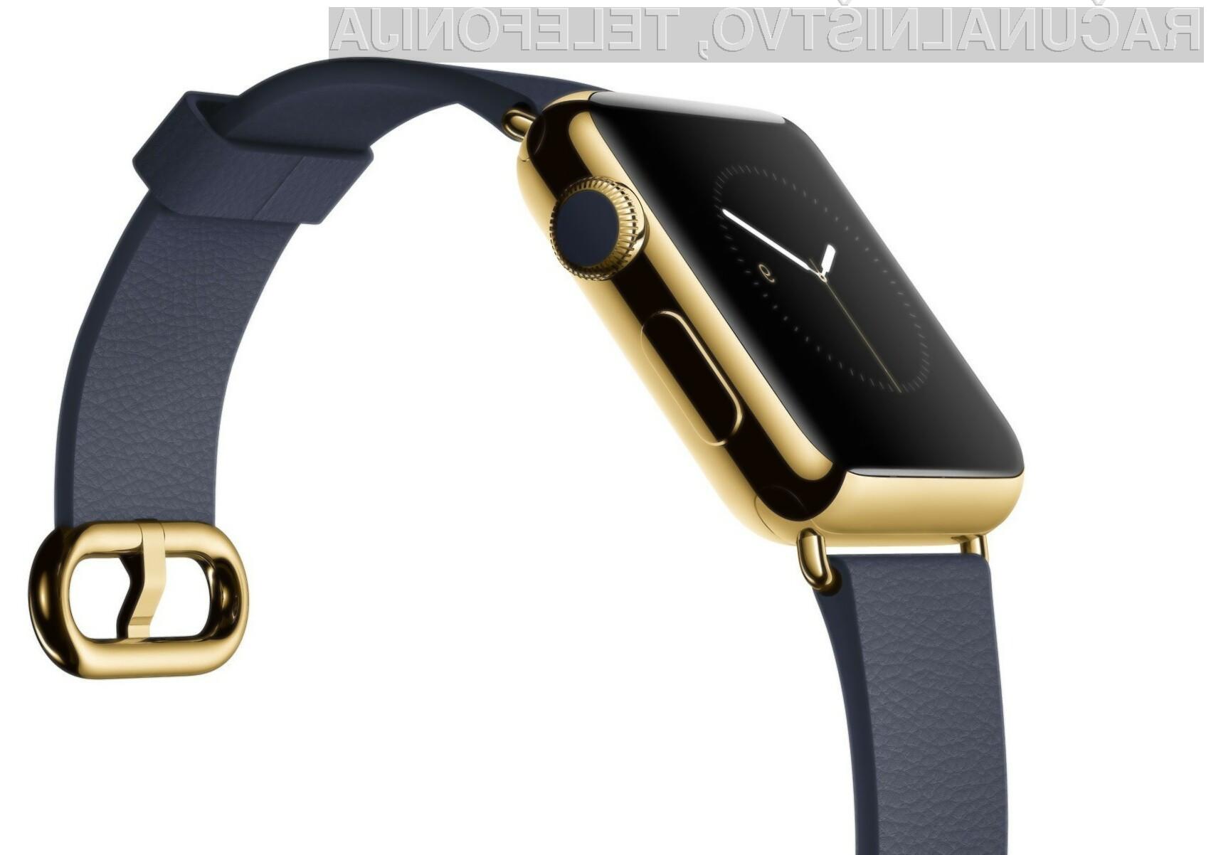 Applu trenutno povpraševanje po pametni ročni uri Watch ni po godu!
