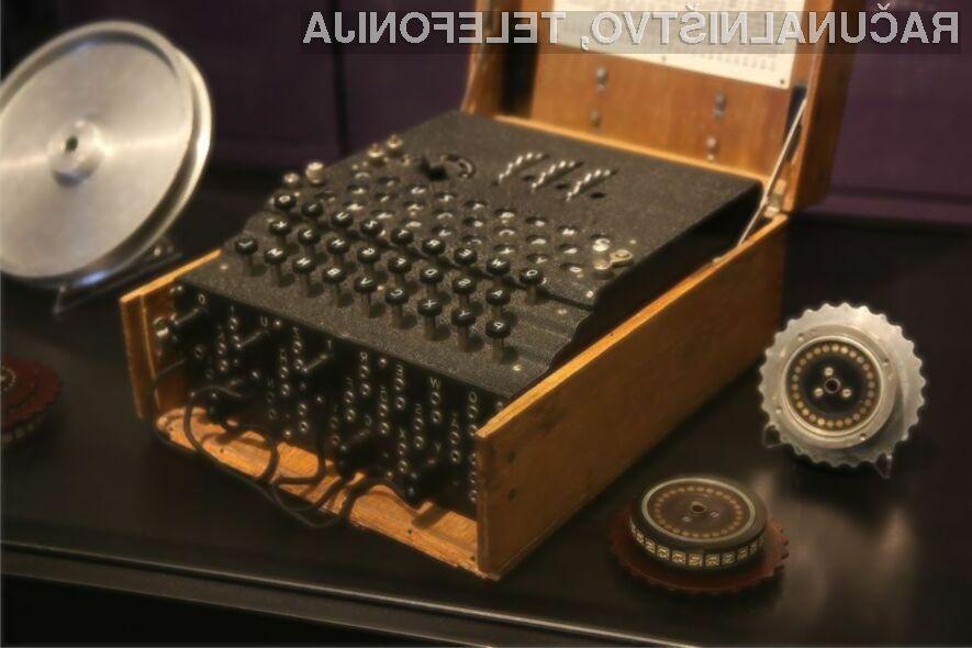 Enigma je bila ključna za razvoj šifriranih komunikacij!