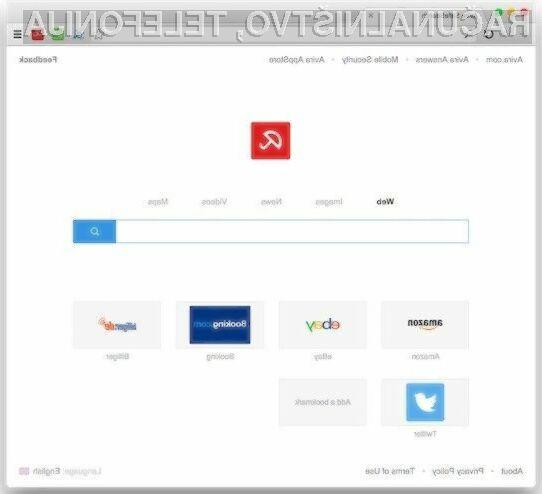 Spletni brskalnik Avira nas bo varoval pred večino nevarnosti, ki preži na svetovnem spletu!