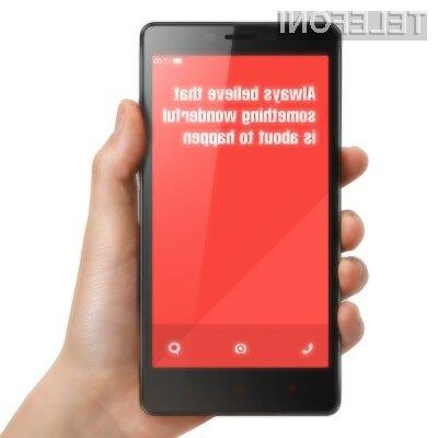 Pametni mobilni telefon XIAOMI RedMi Note za malo denarja ponuja veliko!