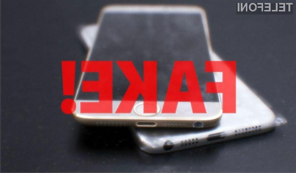 Prodajalci ponarejenih mobilnikov iPhone bodo zaradi zaprtja tovarne nedvomno imeli precejšnje težave s prodajo!