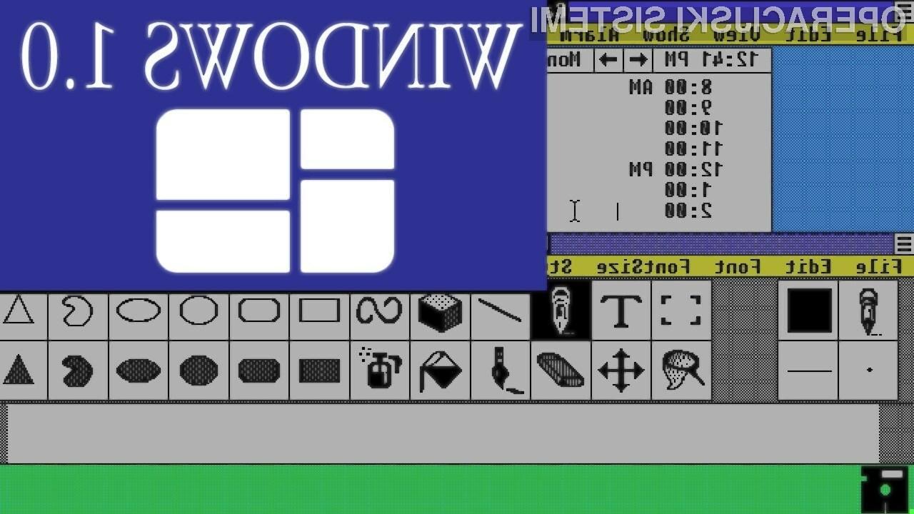 Prvi operacijski sistem Windows je luč sveta ugledal že pred slabimi 30 leti!