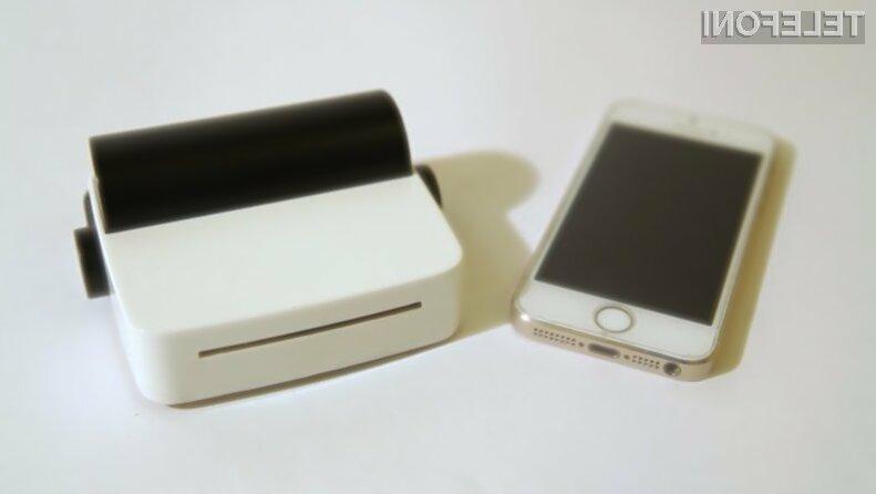 Prenosni tiskalnik droPrinter za pametne mobilne telefone nam bo olajšal marsikatero opravilo!