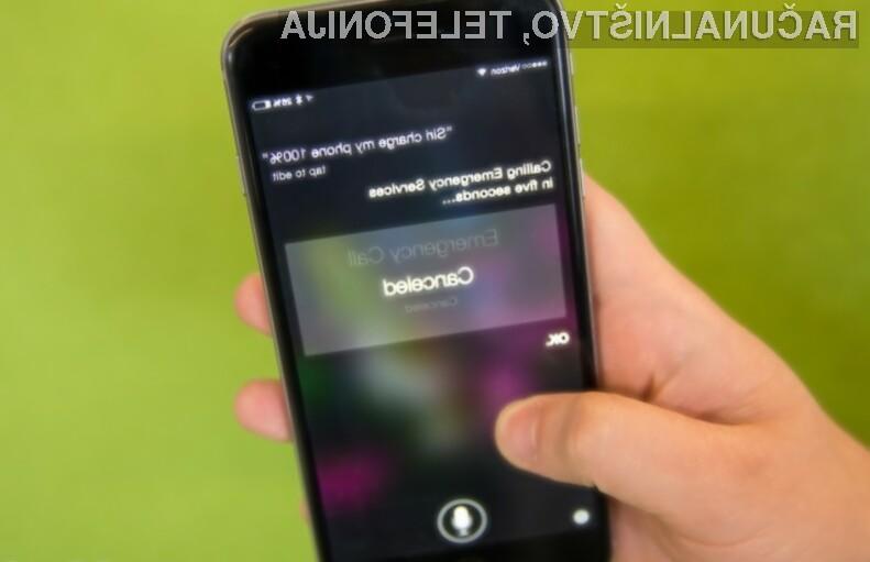 Apple o napaki digitalne asistentke Siri vsaj zaenkrat še ne daje izjav!