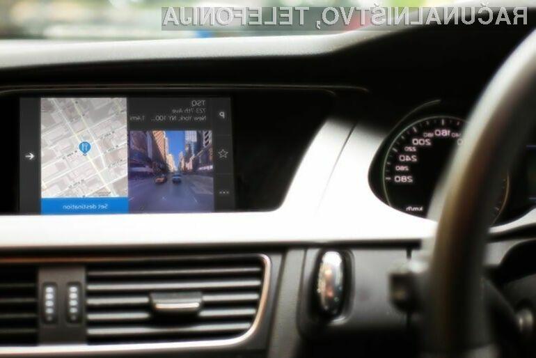 Kartografski sistem v sodobnih avtomobilih višjega cenovnega razreda preprosto ne sme manjkati!