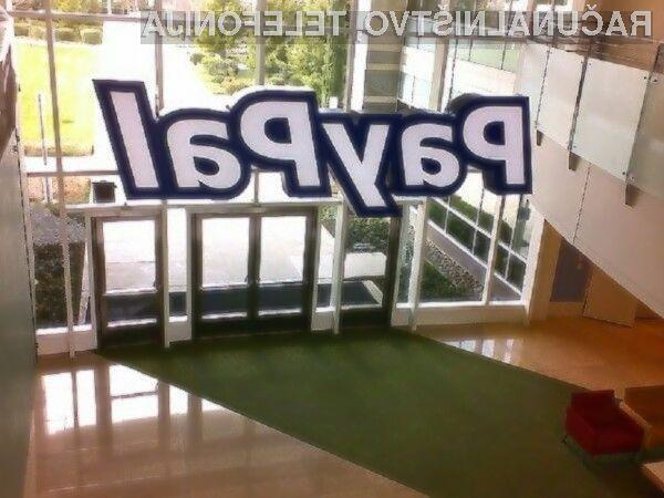 Plačevanje s PayPalom je odslej še prijetnejše!