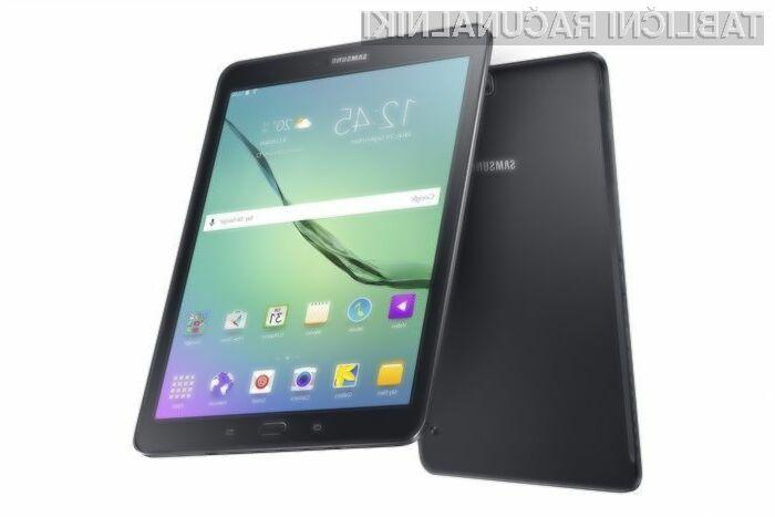 Tablični računalnika Samsung Galaxy Tab S2 je kot nalašč za deskanje po svetovnem spletu in prebiranju elektronskih vseb