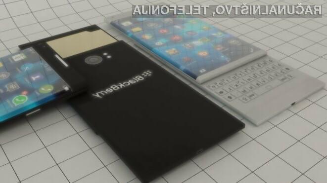 BlackBerry naj bi uporabnike storitev mobilne telefonije poskušal prepričati z Androidom!