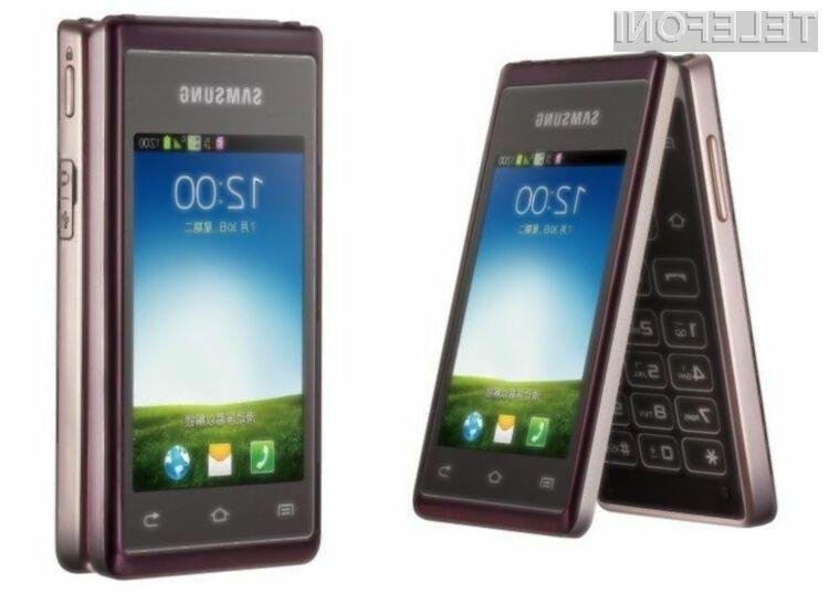 Za podjetje Samsung so preklopni mobilniki še vedno »in«.