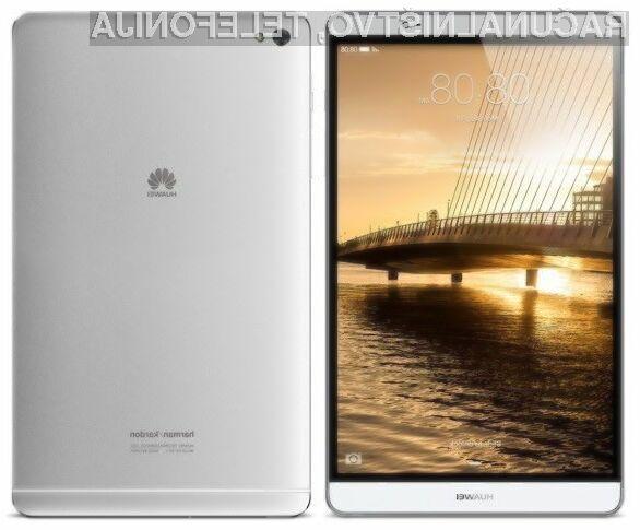 Tablični računalnik Huawei MediaPad M2 ponuja odlično razmerje med ceno in zmogljivostjo.