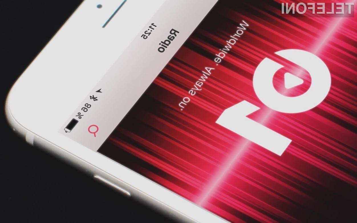 Spletna radijska postaja Beats 1 je klonila prevelikemu navalu uporabnikov!