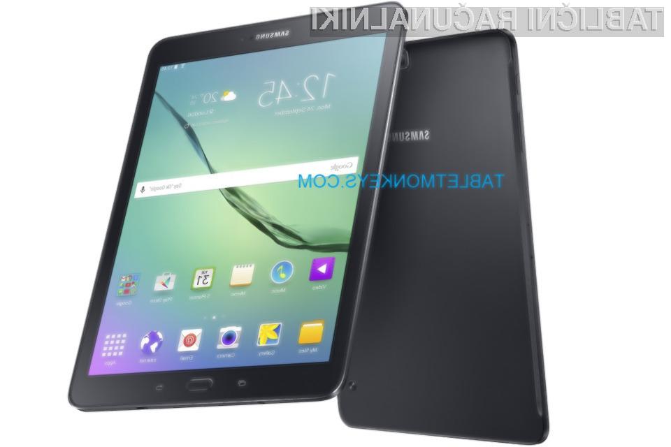Tablična računalnika Samsung Galaxy Tab S2 naj bi bila naprodaj še pred jesenjo.