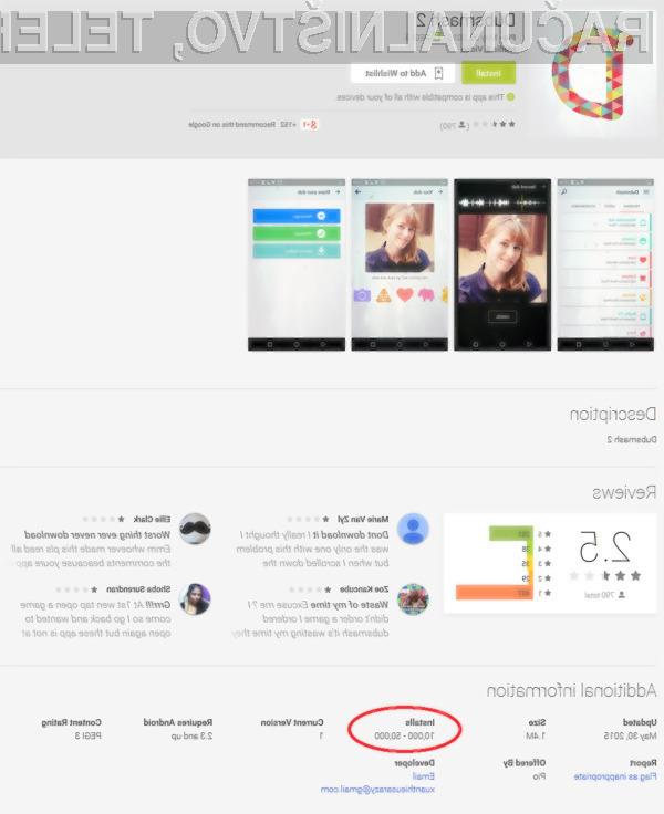 Dodatna previdnost pri nameščanju aplikacij na Android ni nikoli odveč!