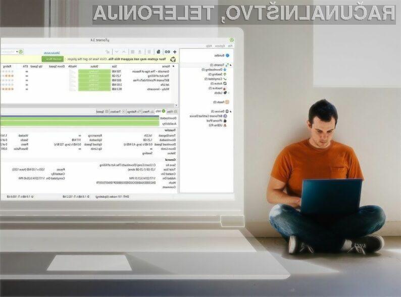 Uporaba programa uTorrent ne bo več brezplačna!