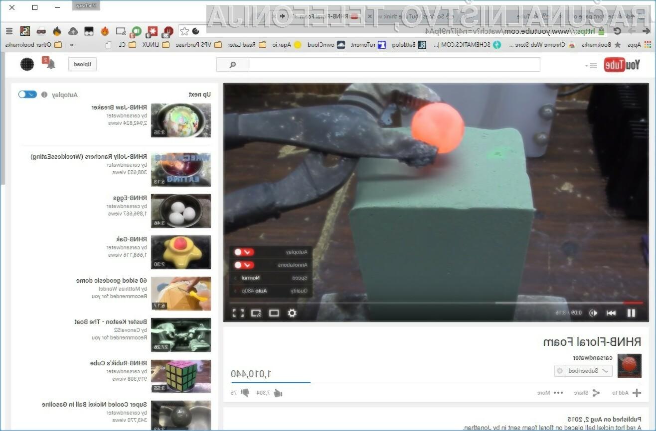 Novi YouTube navdušuje v vseh pogledih!