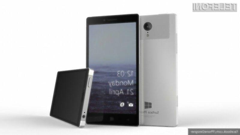 Mobilnik Microsoft Surface naj bi bil kot nalašč za zahtevne uporabnike.