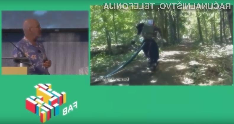 Robot Atlas raziskovalnega inštituta Boston Dynamics je nalogo opravil z odliko!